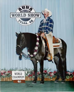Steens Vaquero World Champion Buckskin Association